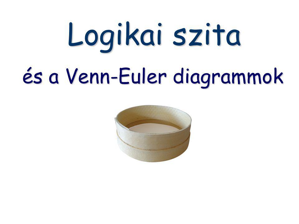és a Venn-Euler diagrammok