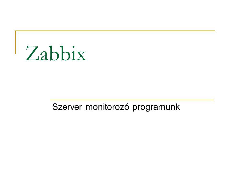 Szerver monitorozó programunk