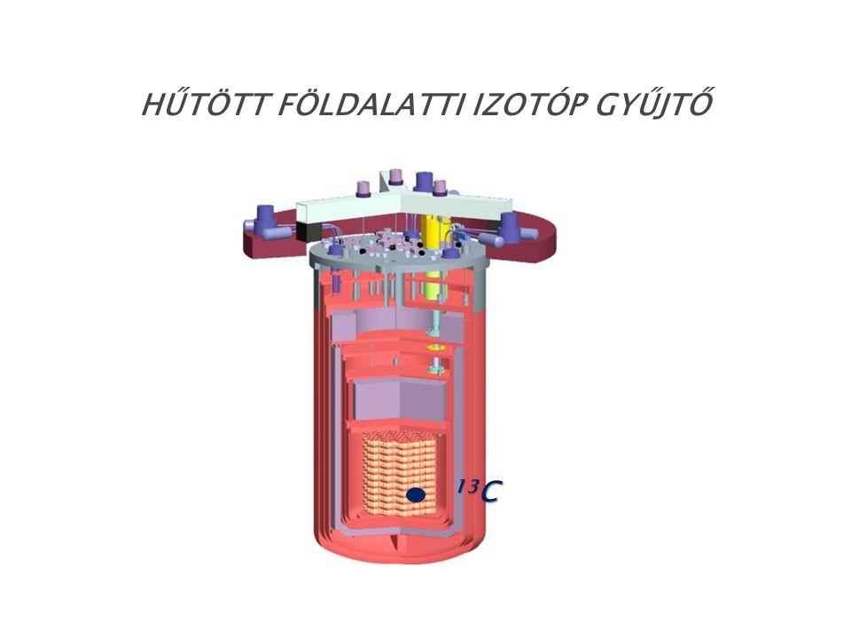 hűtött földalatti izotóp gyűjtő