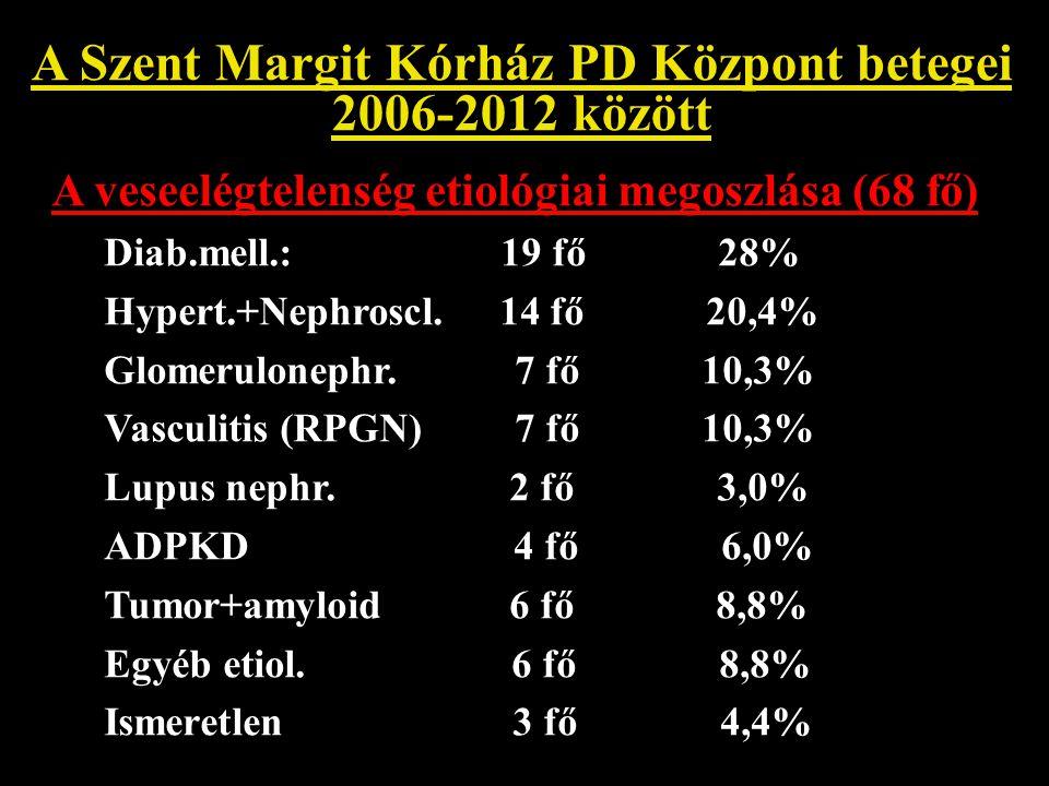 A Szent Margit Kórház PD Központ betegei