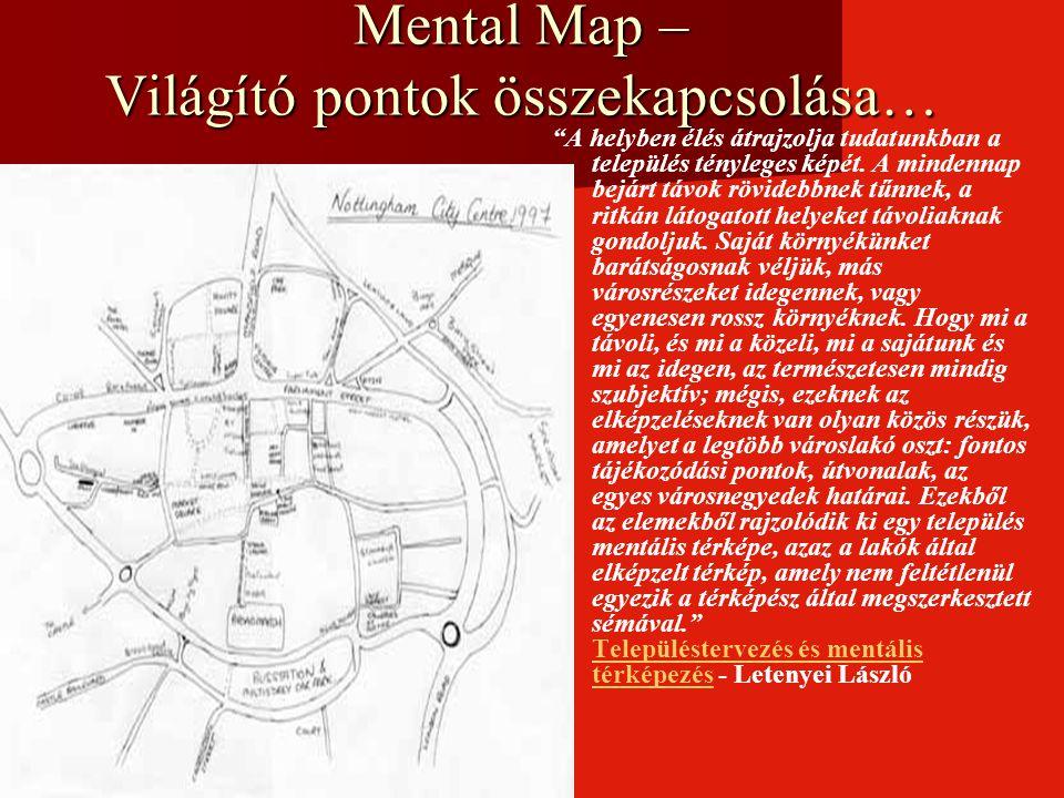 Mental Map – Világító pontok összekapcsolása…