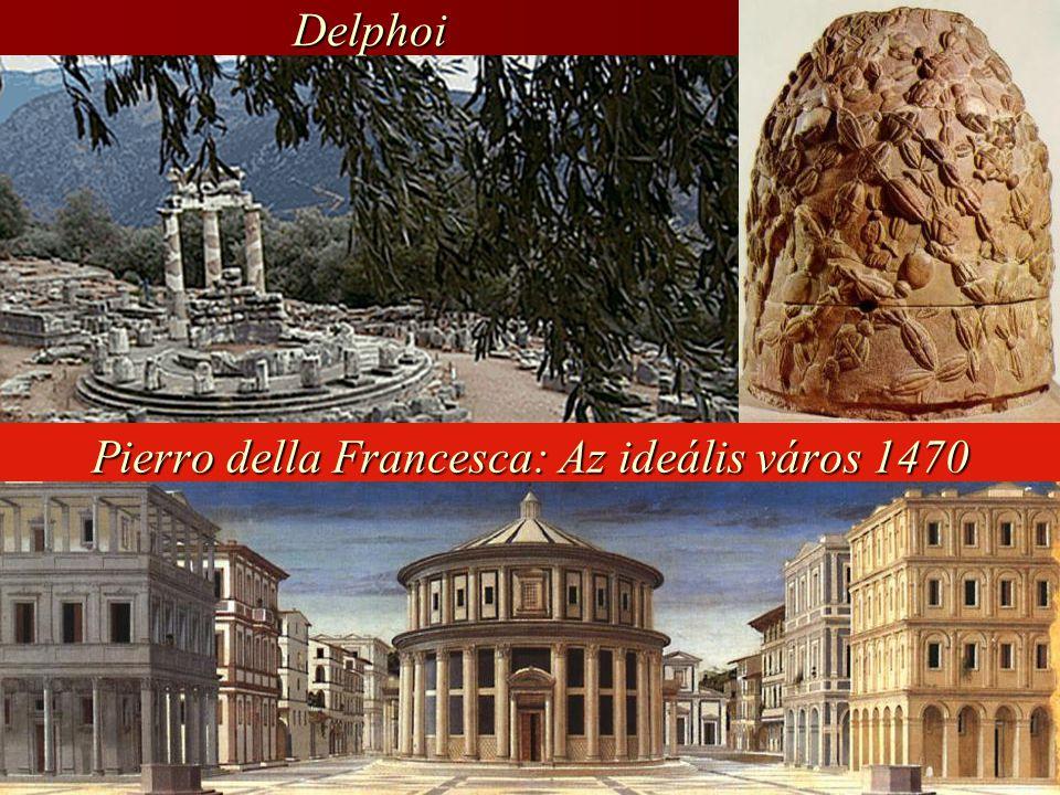 Pierro della Francesca: Az ideális város 1470