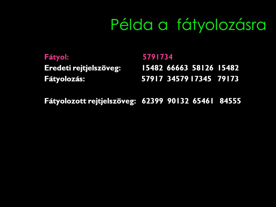 Példa a fátyolozásra Fátyol: 5791734