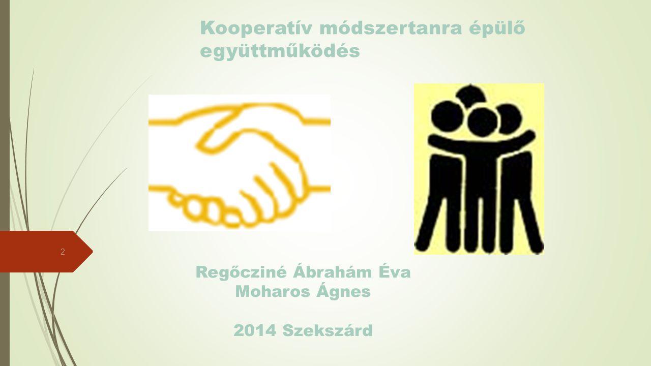 Kooperatív módszertanra épülő együttműködés