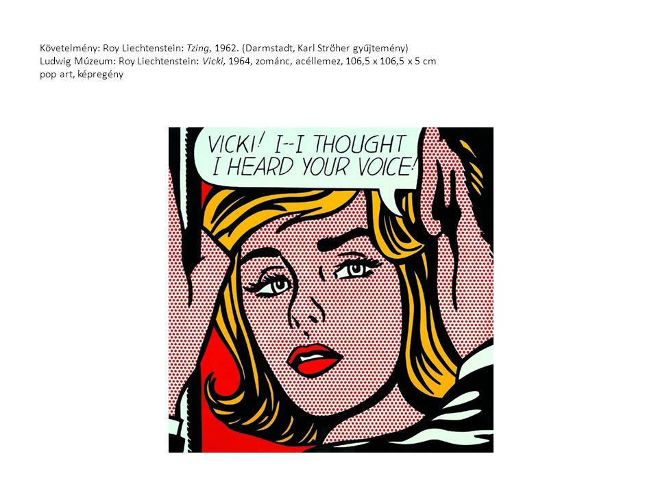 Követelmény: Roy Liechtenstein: Tzing, 1962