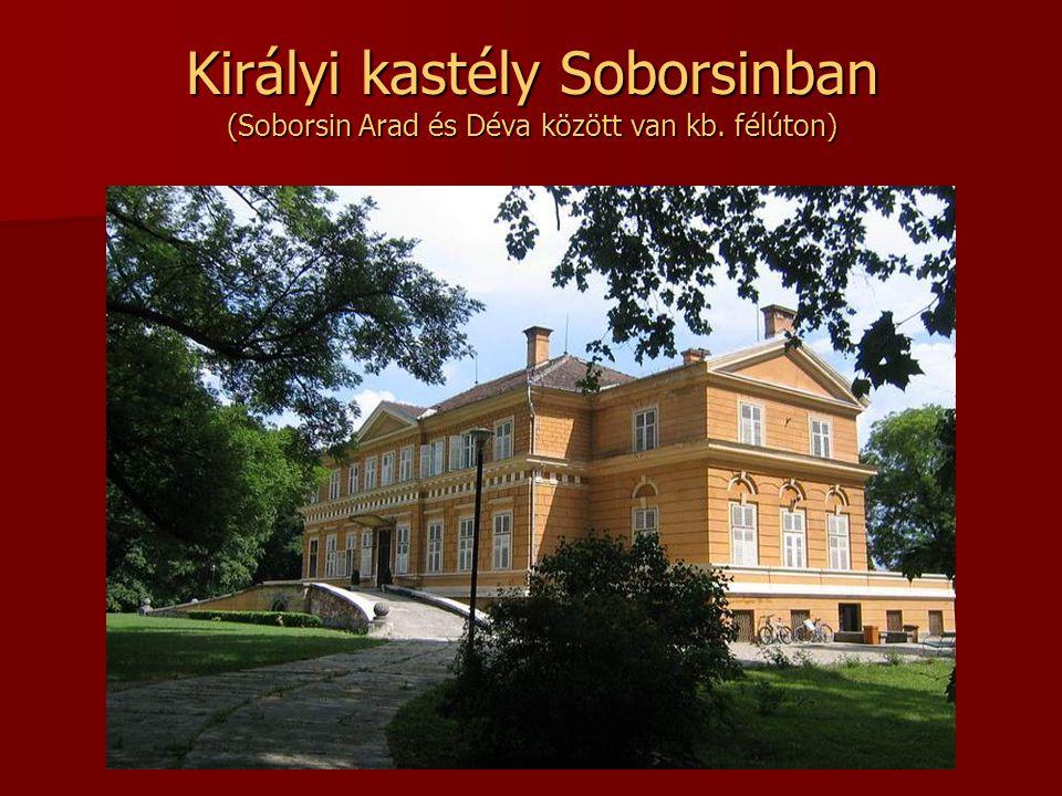 Királyi kastély Soborsinban (Soborsin Arad és Déva között van kb