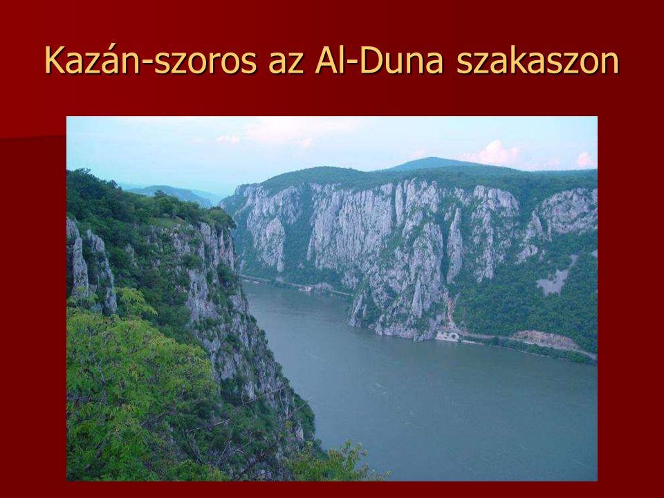 Kazán-szoros az Al-Duna szakaszon