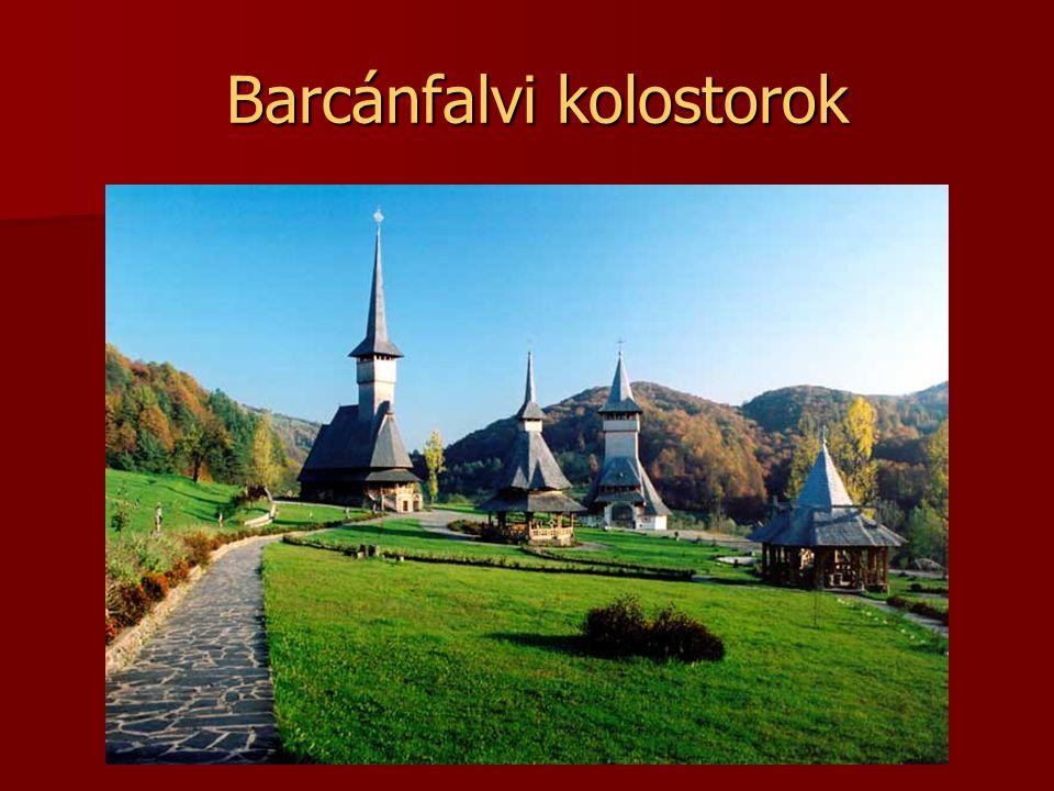 Barcánfalvi kolostorok