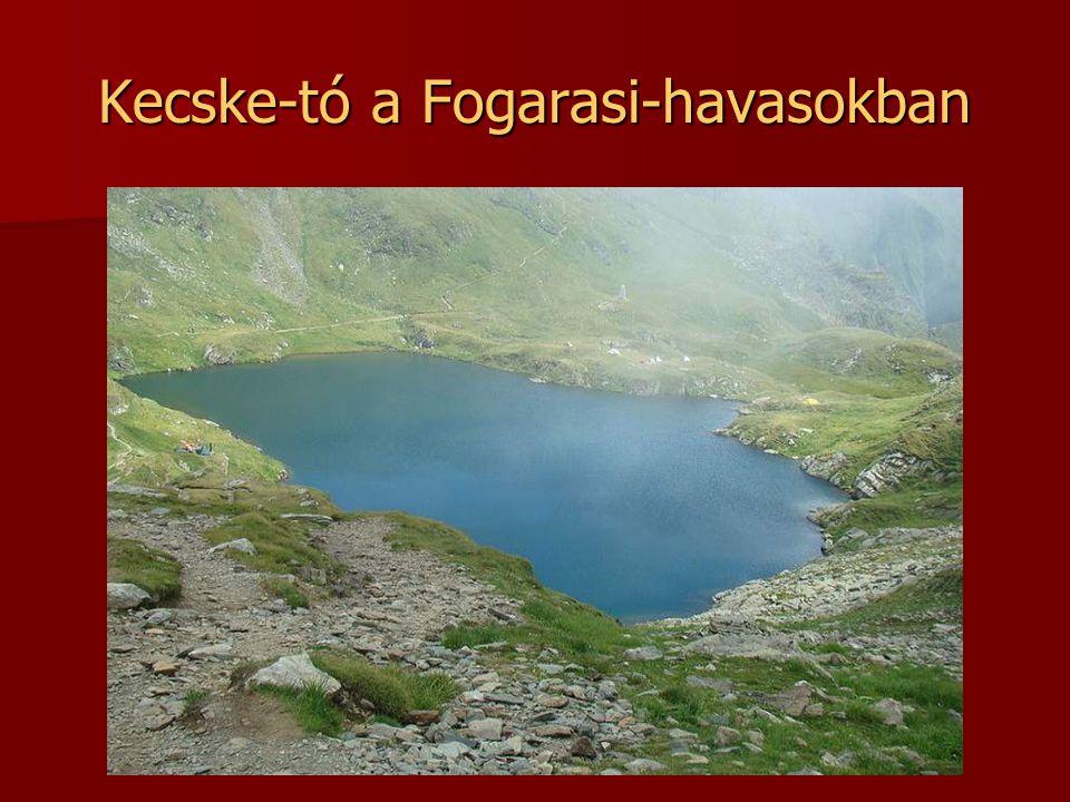 Kecske-tó a Fogarasi-havasokban