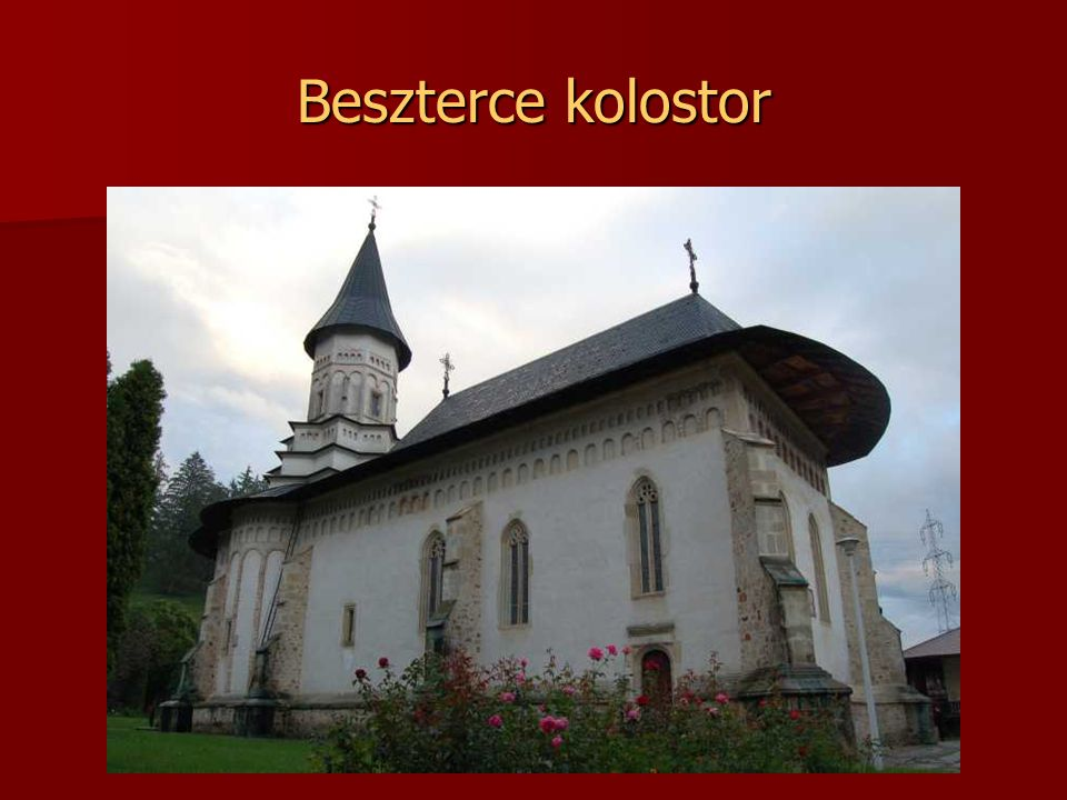 Beszterce kolostor