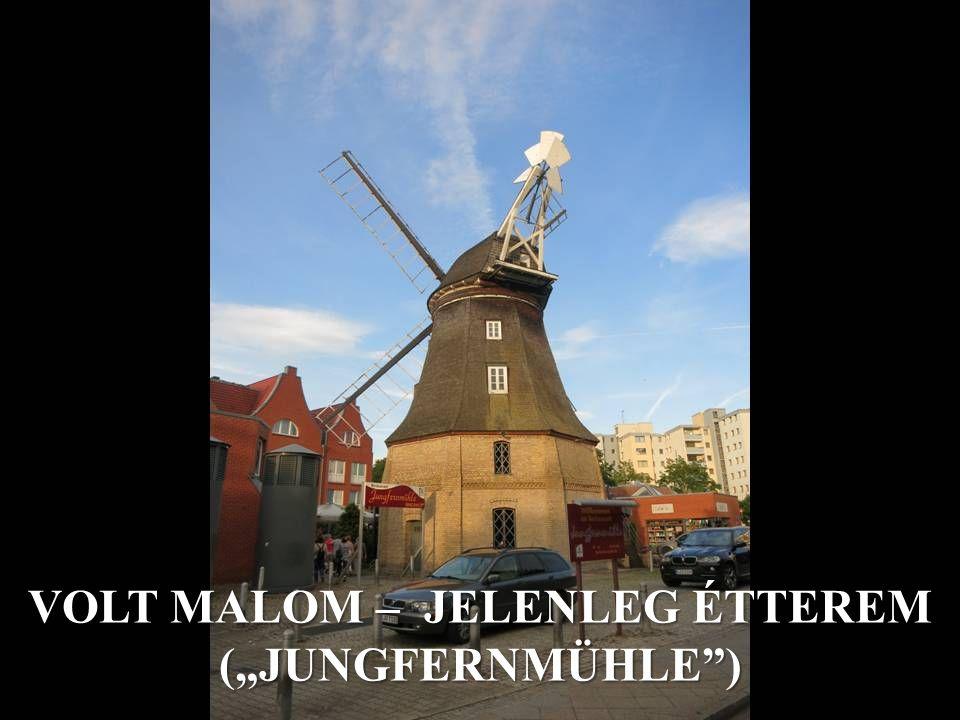 "VOLT MALOM – JELENLEG ÉTTEREM (""JUNGFERNMÜHLE )"