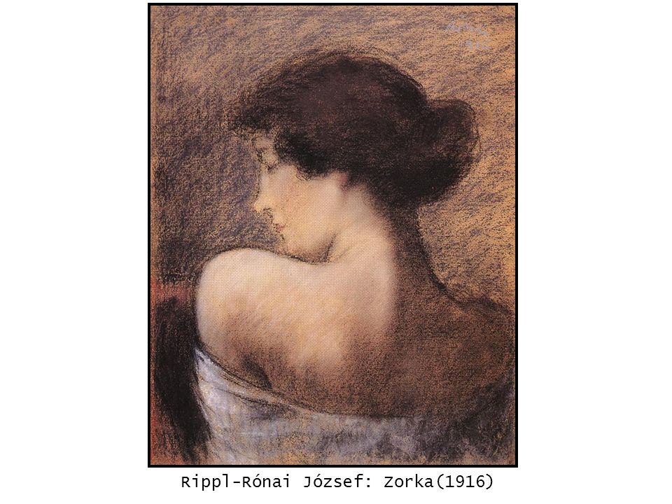 kép Rippl-Rónai József: Zorka(1916)