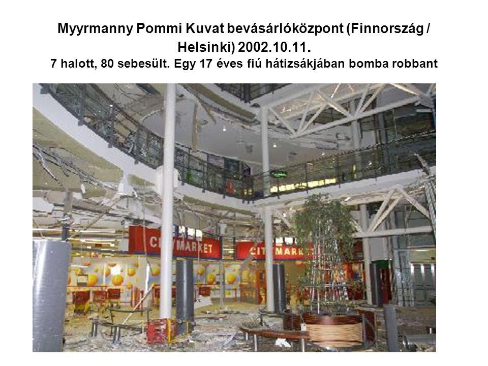 Myyrmanny Pommi Kuvat bevásárlóközpont (Finnország / Helsinki) 2002.10.11.