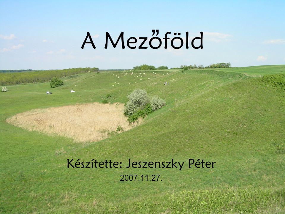 Készítette: Jeszenszky Péter 2007.11.27.
