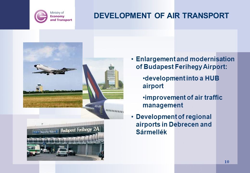 DEVELOPMENT OF AIR TRANSPORT