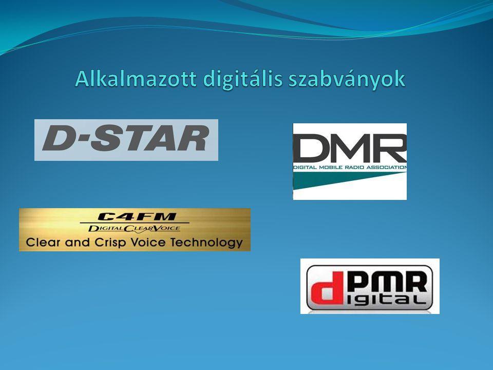 Alkalmazott digitális szabványok