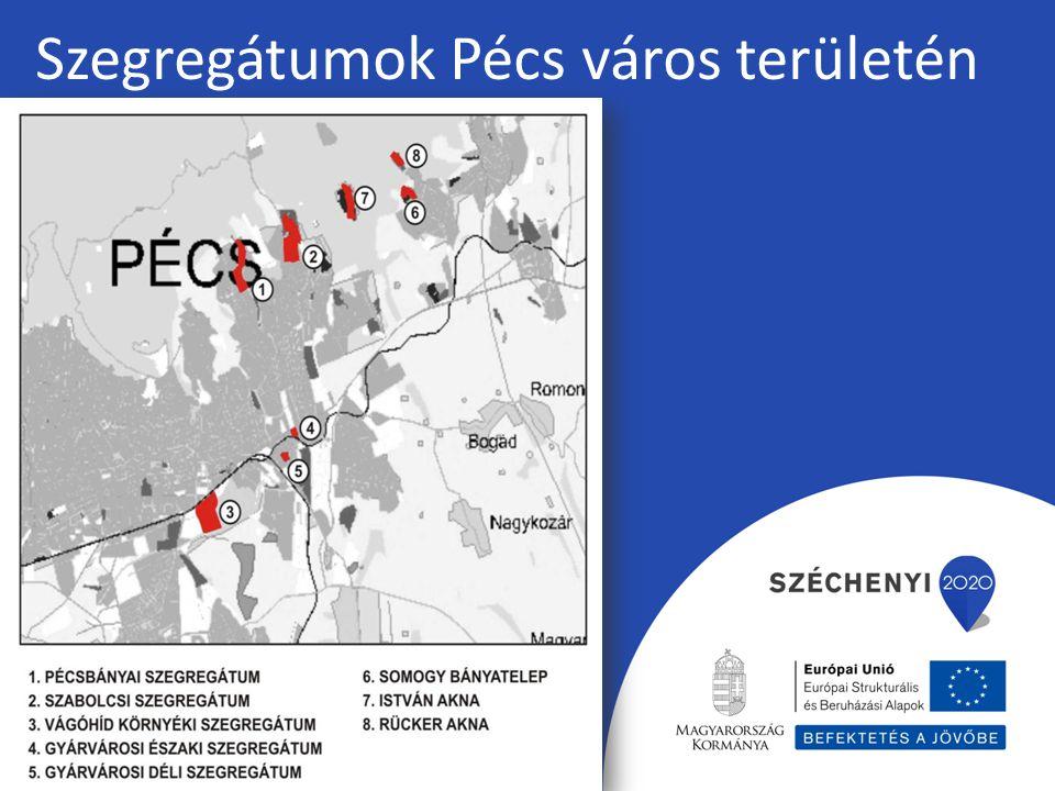 Szegregátumok Pécs város területén