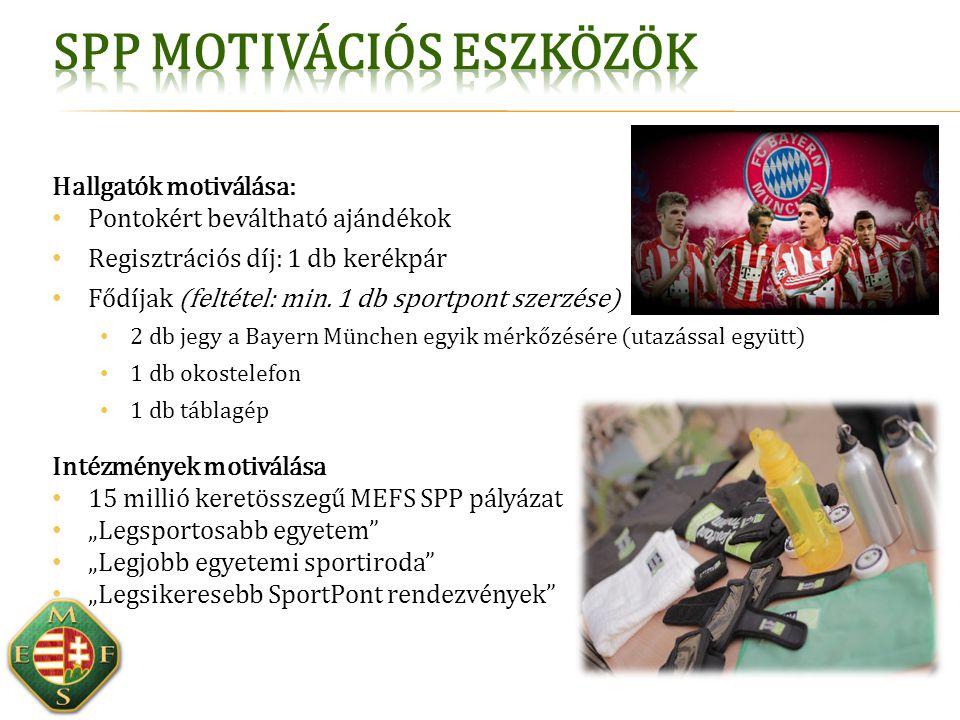 SPP motivációs eszközök