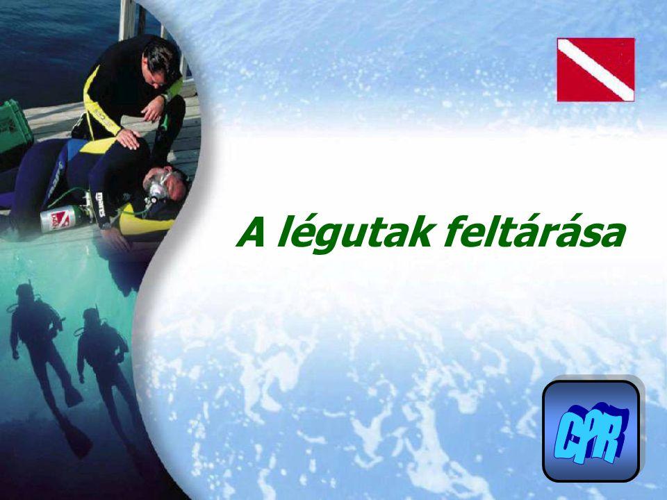 A légutak feltárása CPR