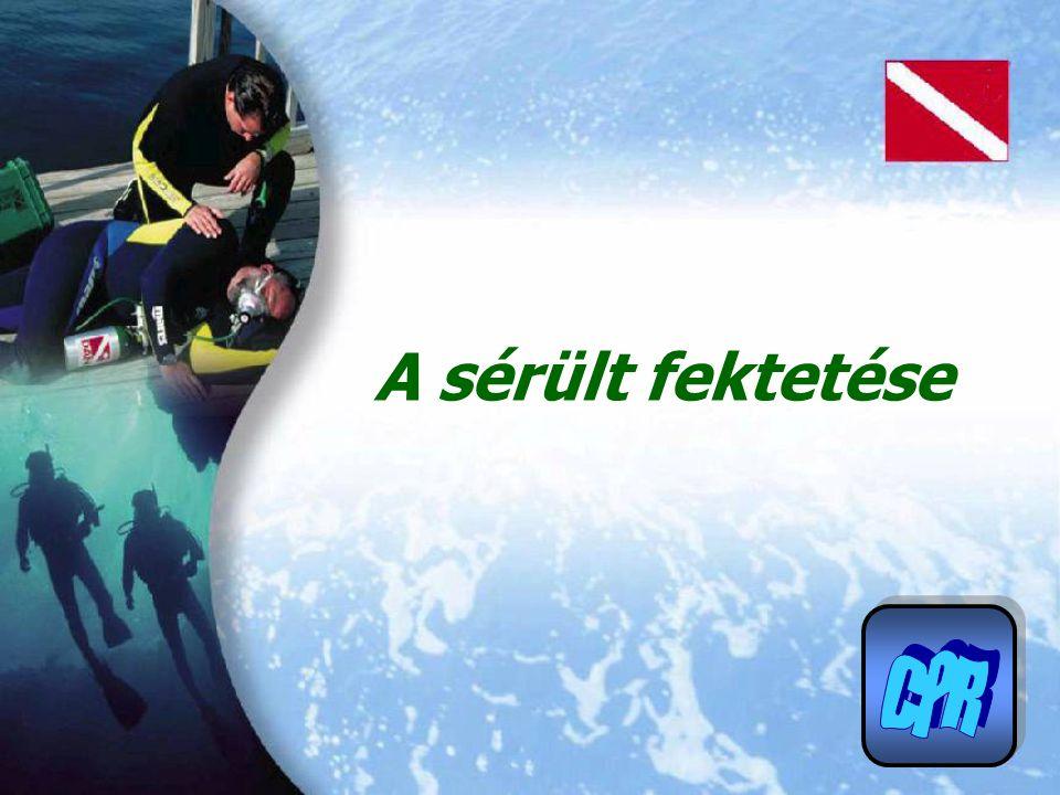 A sérült fektetése CPR
