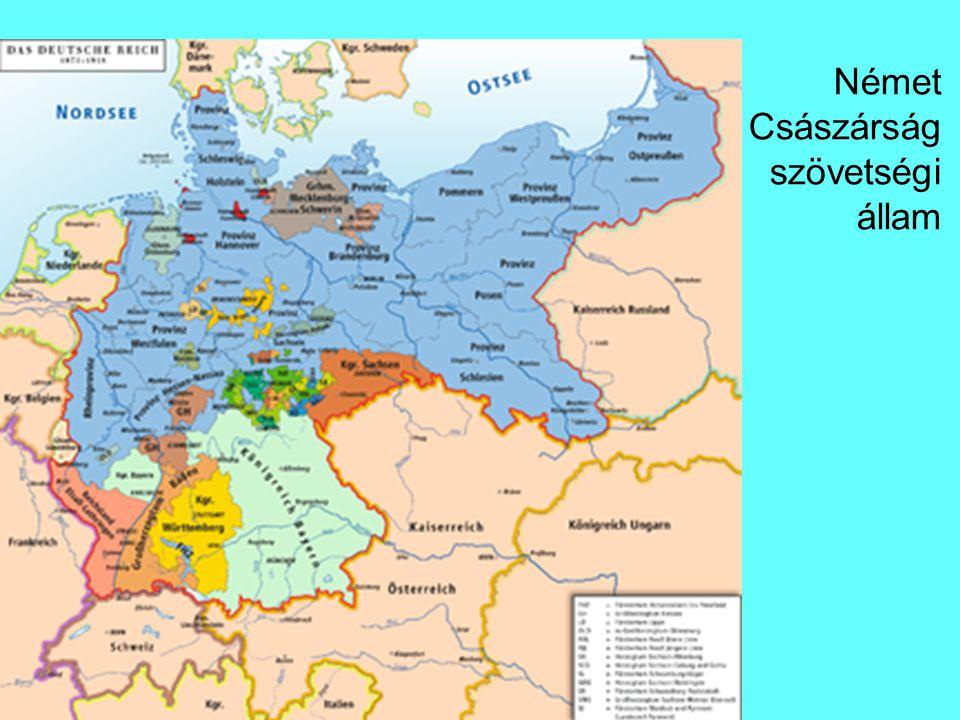 Német Császárság szövetségi állam