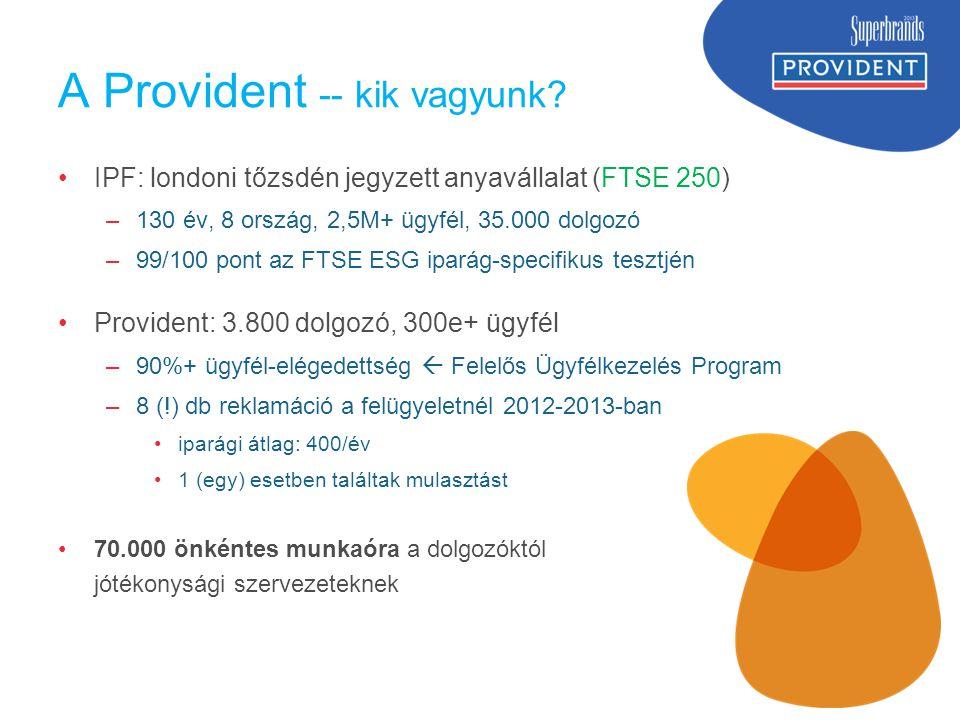 A Provident -- kik vagyunk