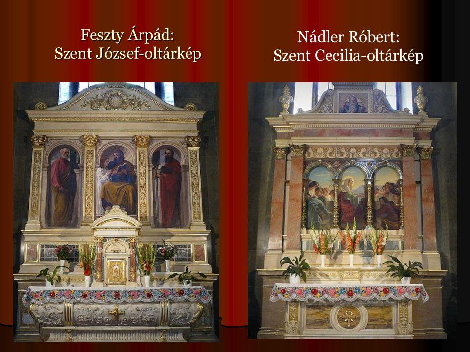 Feszty Árpád: Szent József-oltárkép