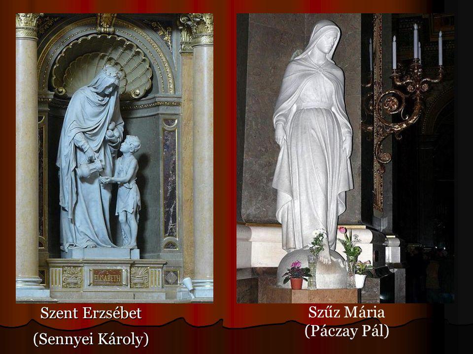 Szent Erzsébet (Sennyei Károly) Szűz Mária (Páczay Pál)