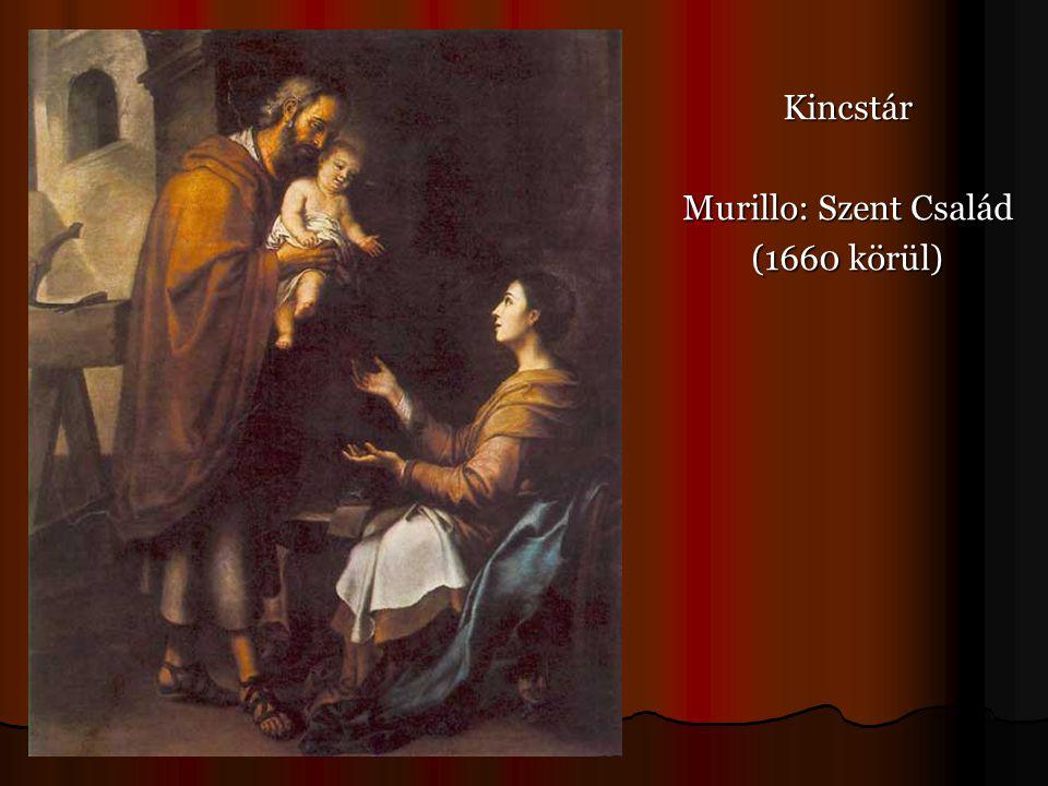Kincstár Murillo: Szent Család (1660 körül)