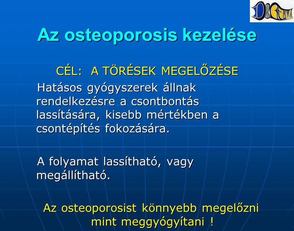 Az osteoporosis kezelése