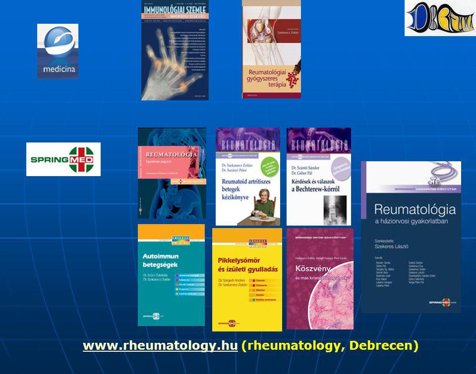 www.rheumatology.hu (rheumatology, Debrecen)