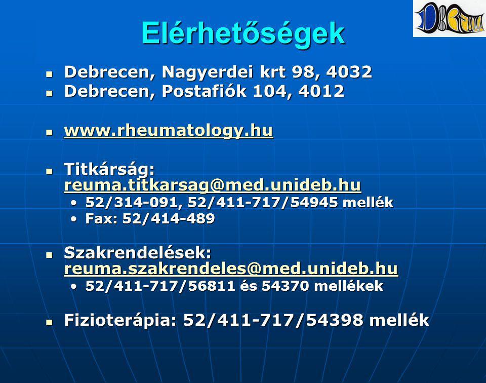 Elérhetőségek Debrecen, Nagyerdei krt 98, 4032