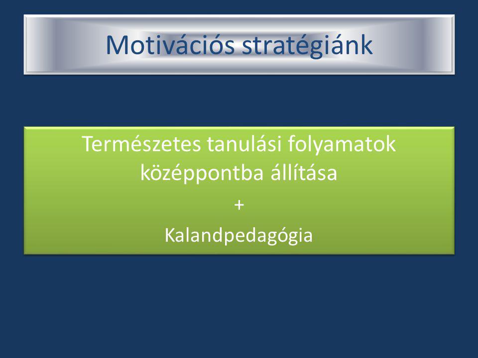 Motivációs stratégiánk