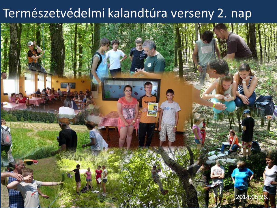 Természetvédelmi kalandtúra verseny 2. nap