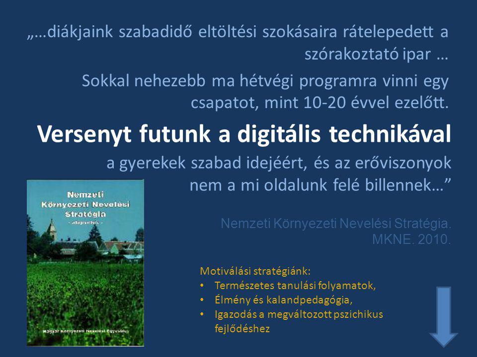 Versenyt futunk a digitális technikával