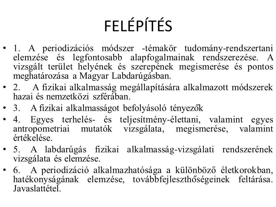 FELÉPÍTÉS