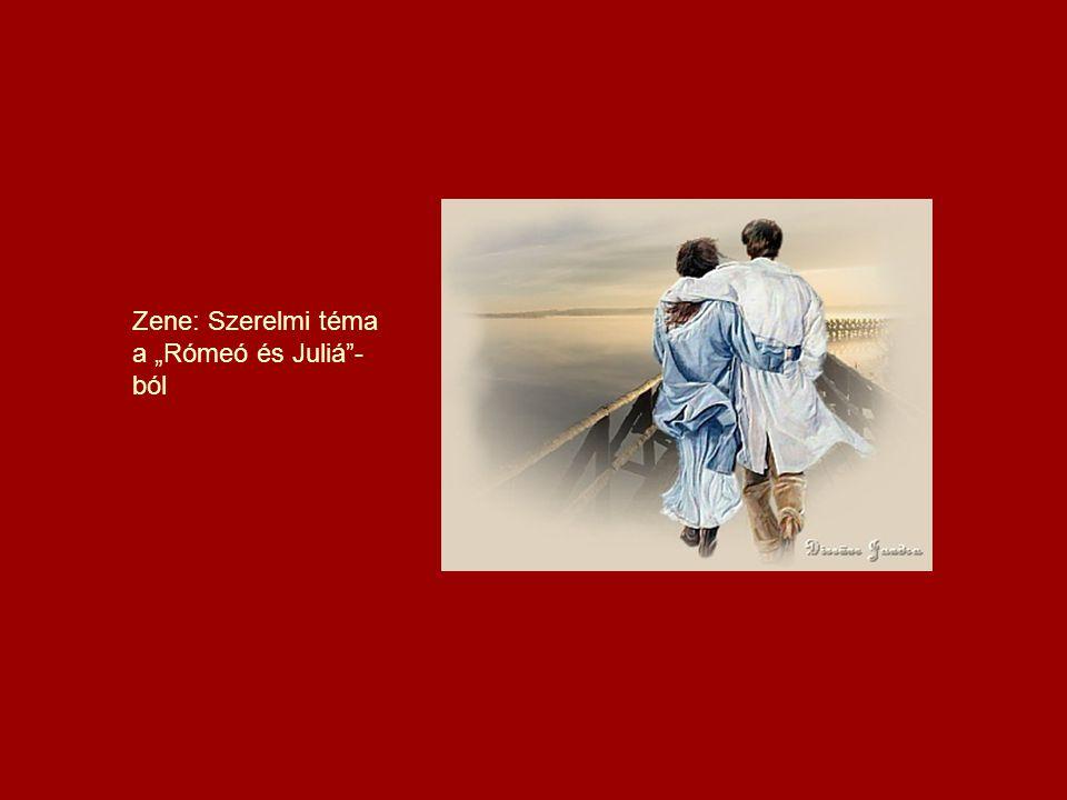 """Zene: Szerelmi téma a """"Rómeó és Juliá -ból"""
