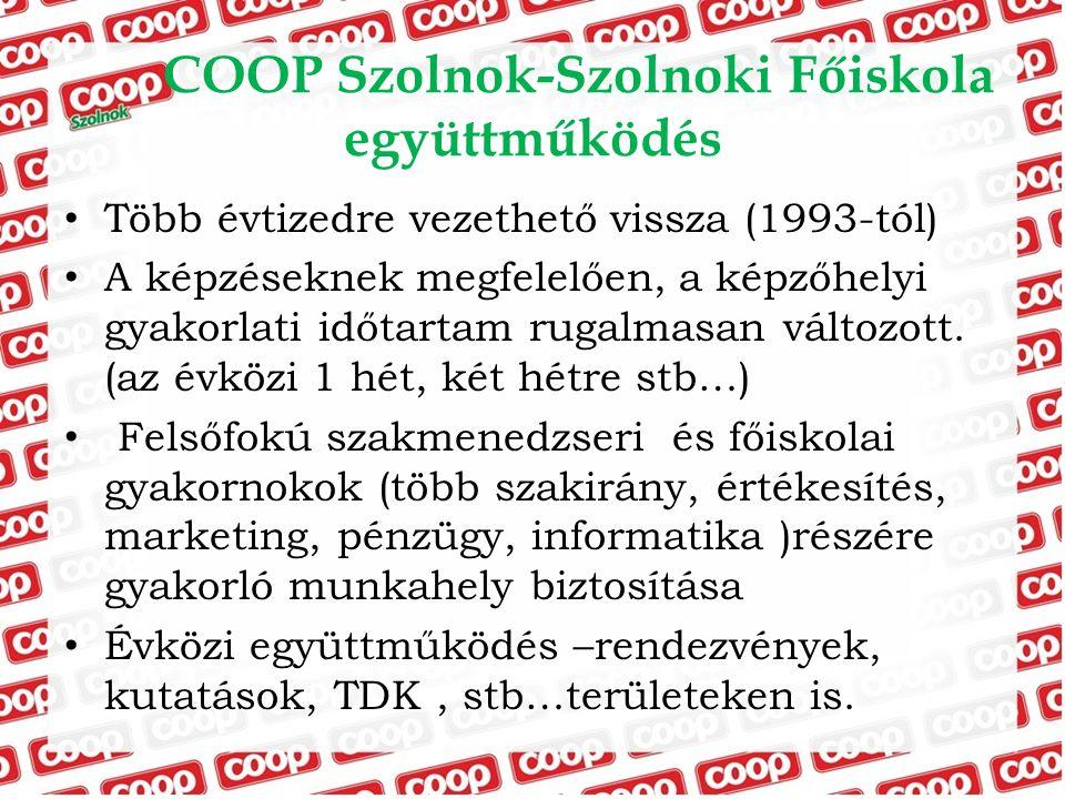 COOP Szolnok-Szolnoki Főiskola együttműködés