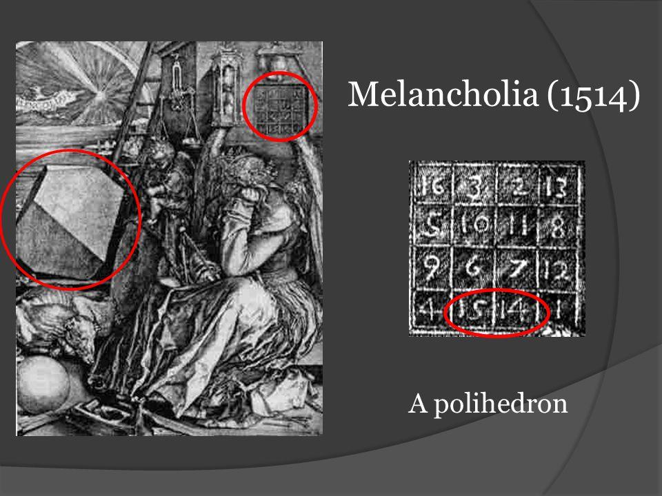 Melancholia (1514) A polihedron