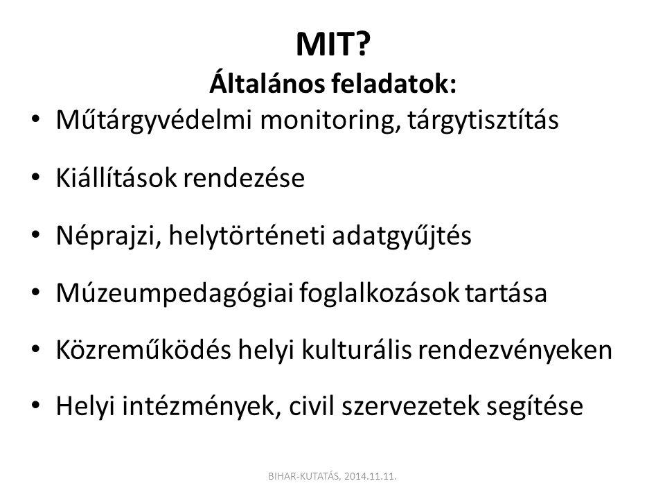 MIT Általános feladatok: