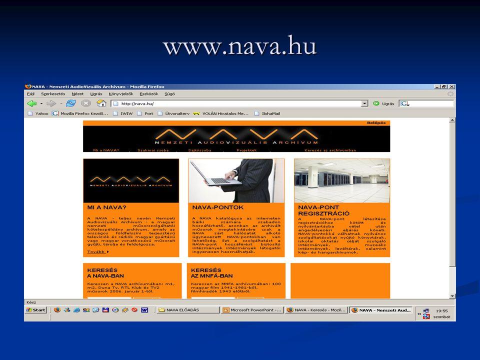 www.nava.hu Méliusz napok 2006