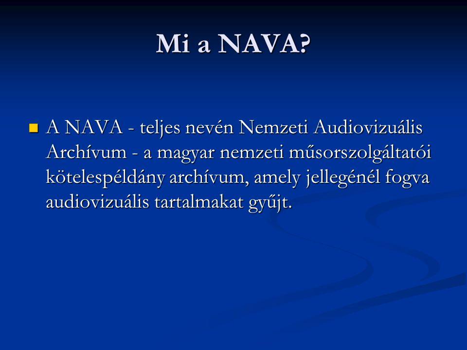Mi a NAVA