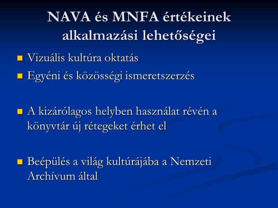 NAVA és MNFA értékeinek alkalmazási lehetőségei
