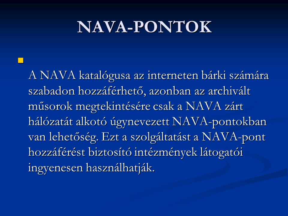 NAVA-PONTOK