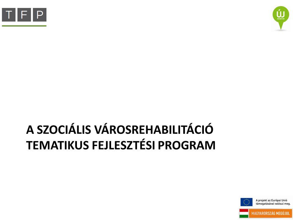 A Szociális Városrehabilitáció Tematikus Fejlesztési Program