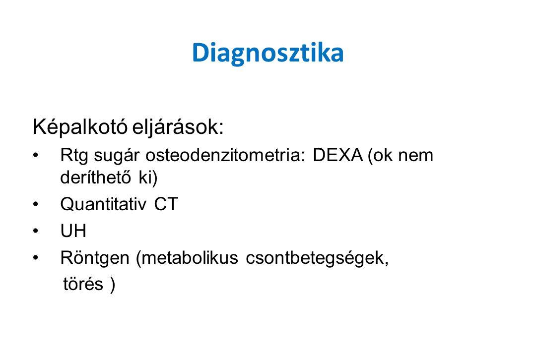 Diagnosztika Képalkotó eljárások: