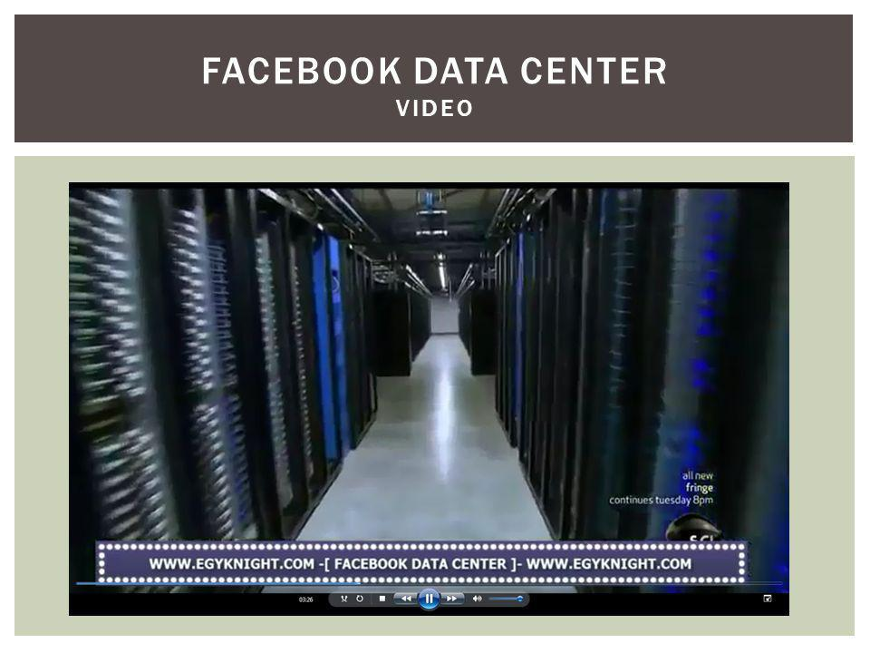 FACEBOOK DATA CENTER Video
