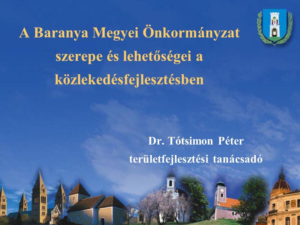 Dr. Tótsimon Péter területfejlesztési tanácsadó
