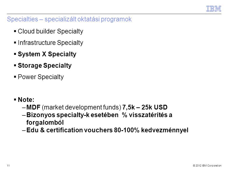 Specialties – specializált oktatási programok