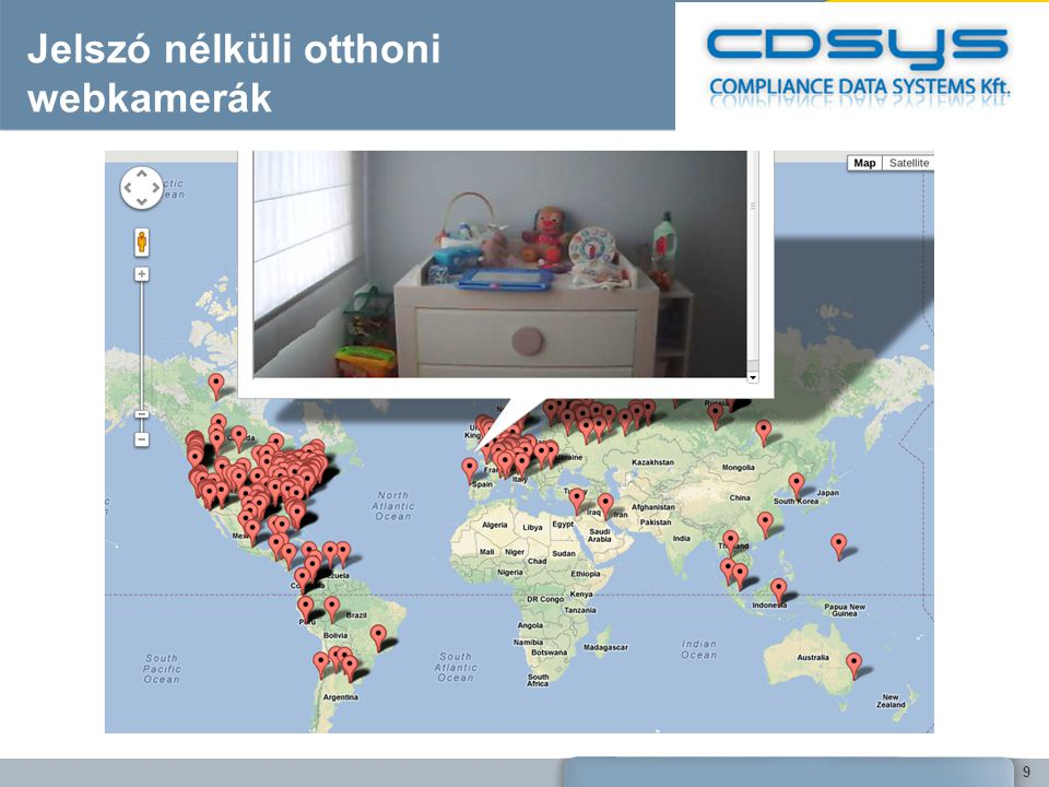 Jelszó nélküli otthoni webkamerák